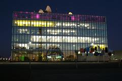 BBC Scotland Building At Night