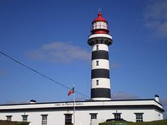 Ponta da Barca lighthouse.