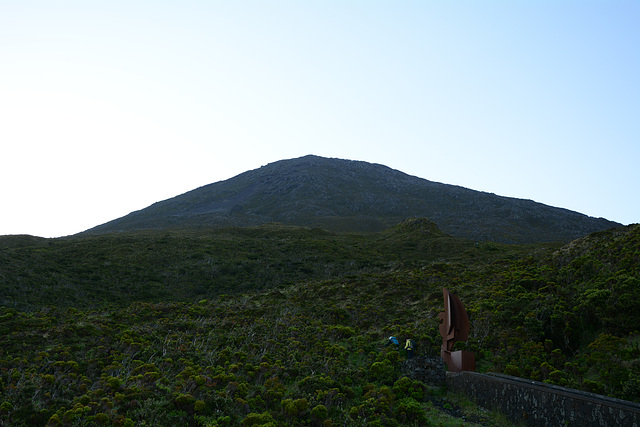 Azores, The Initial Stage of the Ascent to Pico Volcano