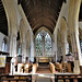 dorchester abbey church, oxon ,late c13 north choir arcade,early c14 south choir arcade, mid c14 east window(6)