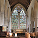 dorchester abbey church, oxon,late c13 north choir arcade,early c14 south choir arcade, mid c14 east window (,7)