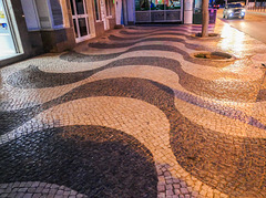 The paving .... of Portugal...