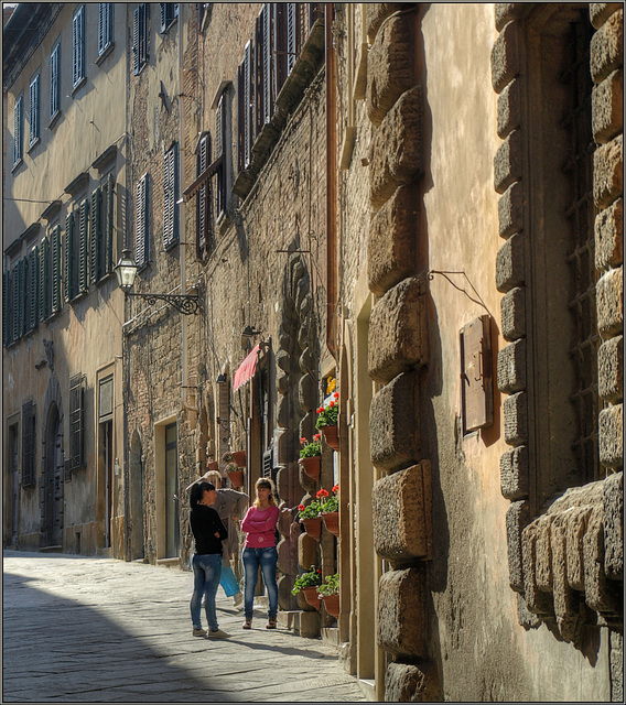 Memories of Tuscany: Afternoon Chat