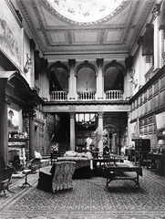 Staircase Hall, Byrkley Lodge, Staffordshire (Demolished)
