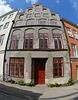 Alte Fassade in der Kleinen Burgstraße/ Lübeck