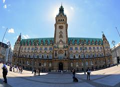 Hamburger Rathaus-Der Treffpunkt!