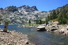 Sierra Buttes and Upper Sardine Lake