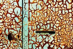 ...rusty mailbox...
