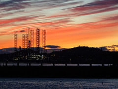 Dundee at sunset