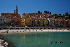 the old town of Menton