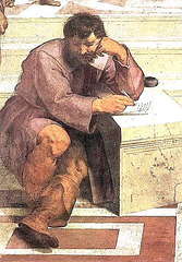 Heraklito laŭ Mikelanĝelo