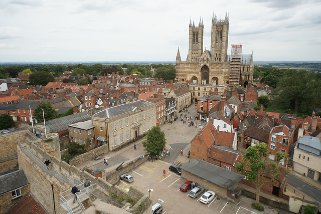 View From Lincoln Castle Walls