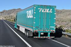 toll global forwarding volvo vnl780 van i40 needles ca 02'15