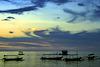 Sunset at the beach of Pemuteran