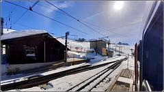 Zermatt : la ferrovia di alta montagna , un trasporto di lusso !