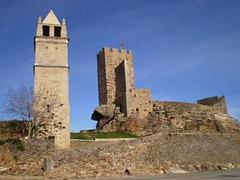 Mogadouro Castle and belfry.