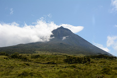 Azores, Pico Volcano (2351 m) from the East