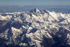 Everest from Druk Air flight Paro-Delhi