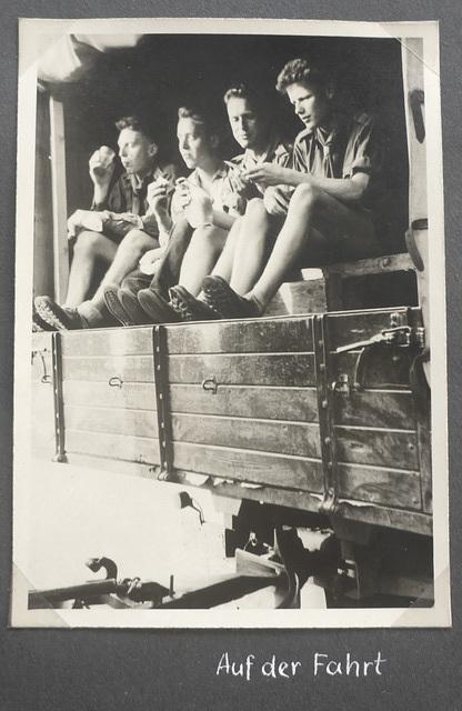 Jugoslawien - Radtour - 4.8. - 17.9.1955 - Abfahrt