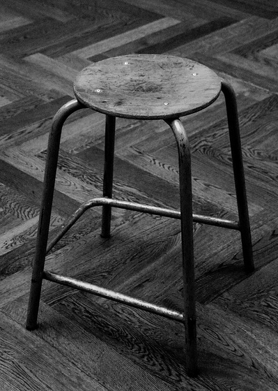 The Beauty of simple Things: Just a Stool