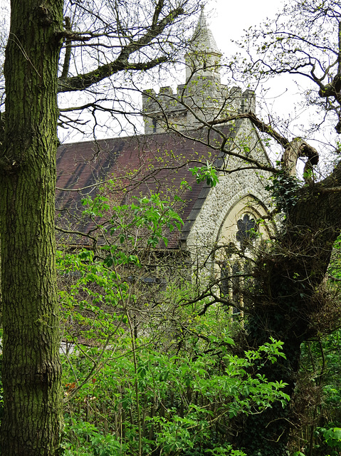 st augustine's church, one tree hill, camberwell, london