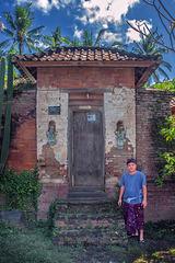 In Bali Aga village Tenganan