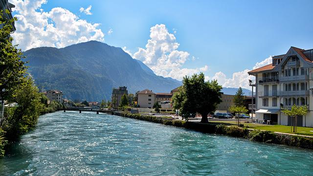 Aare Fluss Schweiz