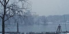 winter on the illinois....