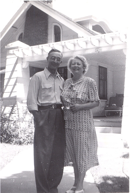 Rudy and Ann, newly transplanted in Arcadia, CA