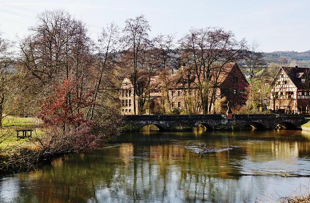 Ein verträumtes Dörflein an der Sinn - A dreamy little village at the river Sinn