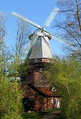 Windmühle an der Schiffertor-Straße in Stade
