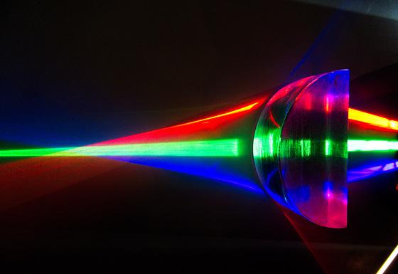 Prismazerstreungssammellinse
