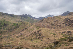 Welsh mountains with Snowdon in the background