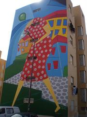 Mural by Márcio Bahia (Brazil).