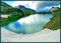 il lago Sommellier - mt.3009 - (655)