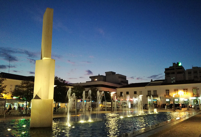 Will there be any city without a fountain in Portugal?