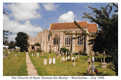 The Church of Saint Thomas the Martyr - Winchelsea - July 1996
