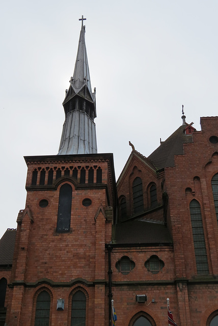 gustaf adolfs kyrka, swedish seamen's church, park lane, liverpool
