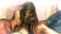 Weeping Nude 1913-1914