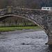A 17th century bridge at Llanrwst.