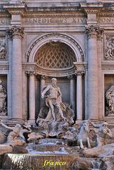 Roma, fontana di Trevi.