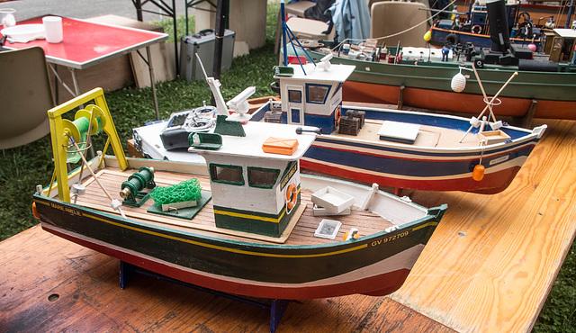 journée maquettes au plan d'eau d'Anse (Rhône)