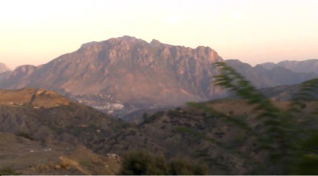 montagnes de mon pays!
