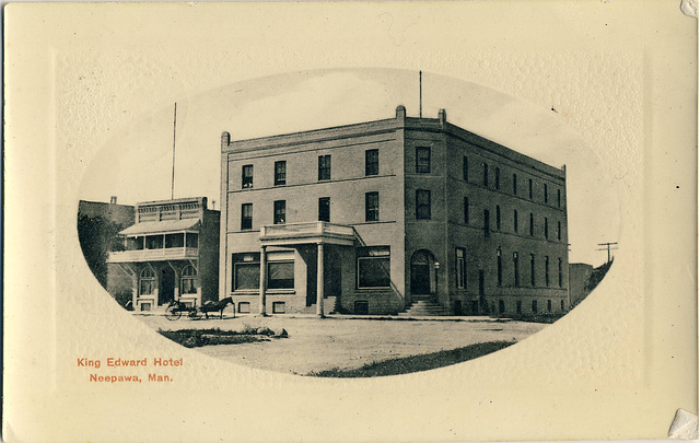 5427. King Edward Hotel, Neepawa, Man.