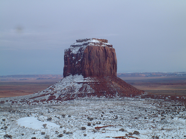 Monument Valley Outcrops