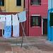 Jour de lessive à Burano