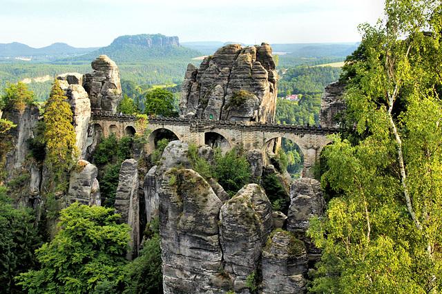 Elbsandsteingebirge, Basteibrücke