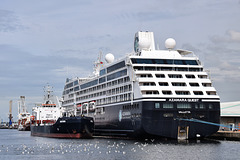 Azamara Quest at Southampton - 17 June 2020