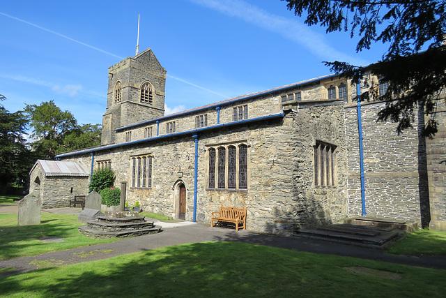 bowness on windermere church, cumbria
