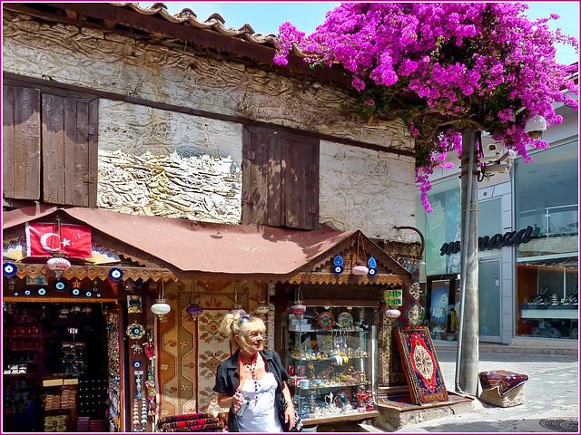 Turchia : Side, una città con molti reperti romani